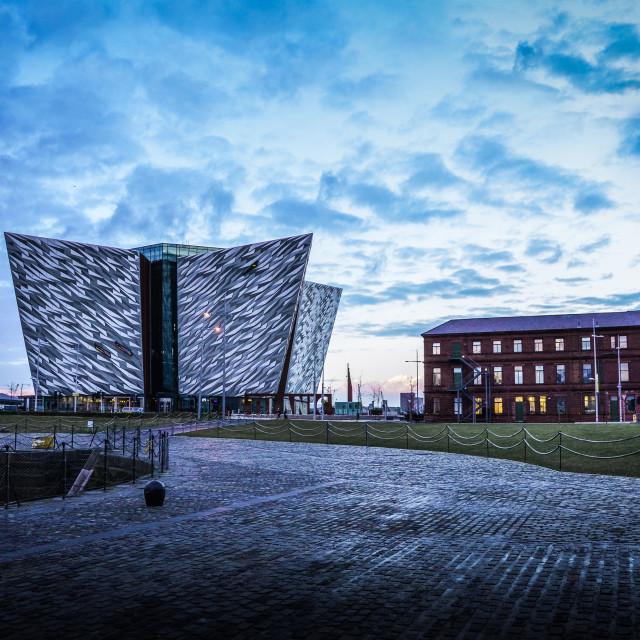 """Titanic Belfast"" stock image"