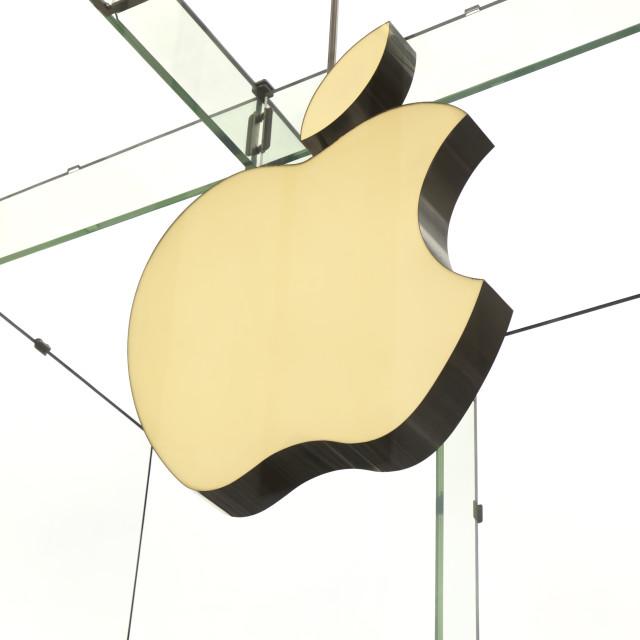 """Apple Store, USA"" stock image"