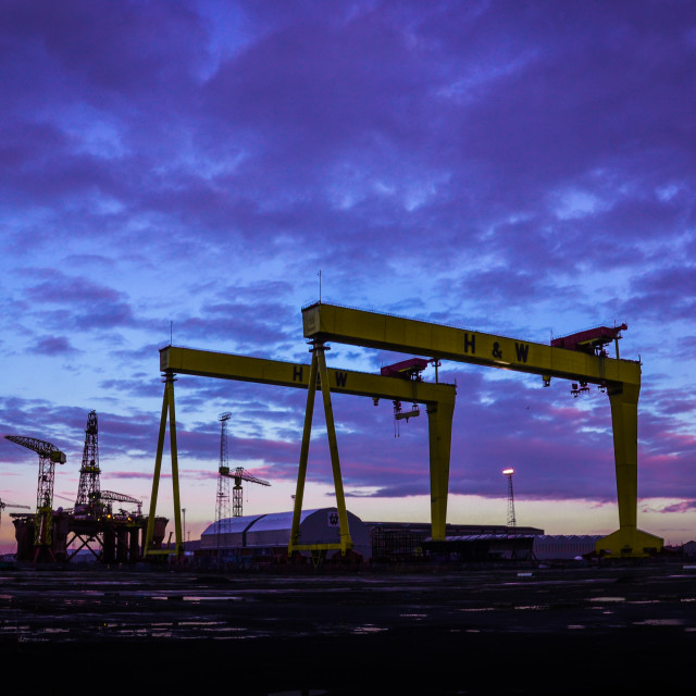 """Samson And Goliath"" stock image"