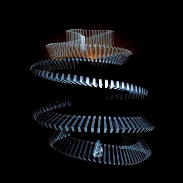 """SPIRAL OF LIGHT"" stock image"