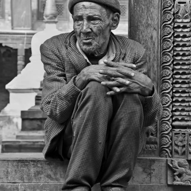 """OLD MAN"" stock image"