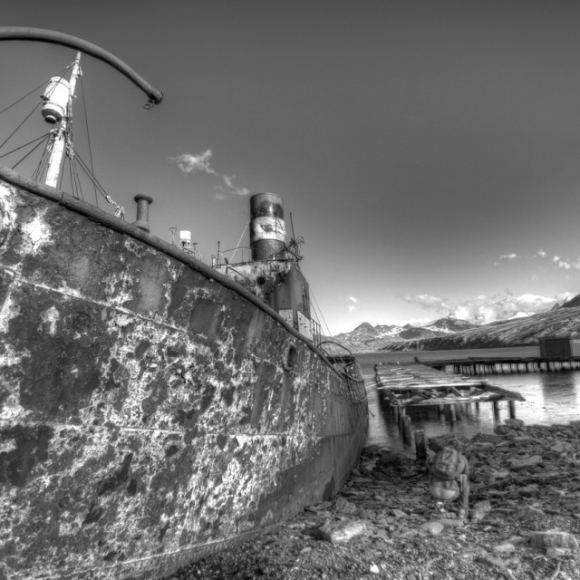 """Rusty Ship"" stock image"