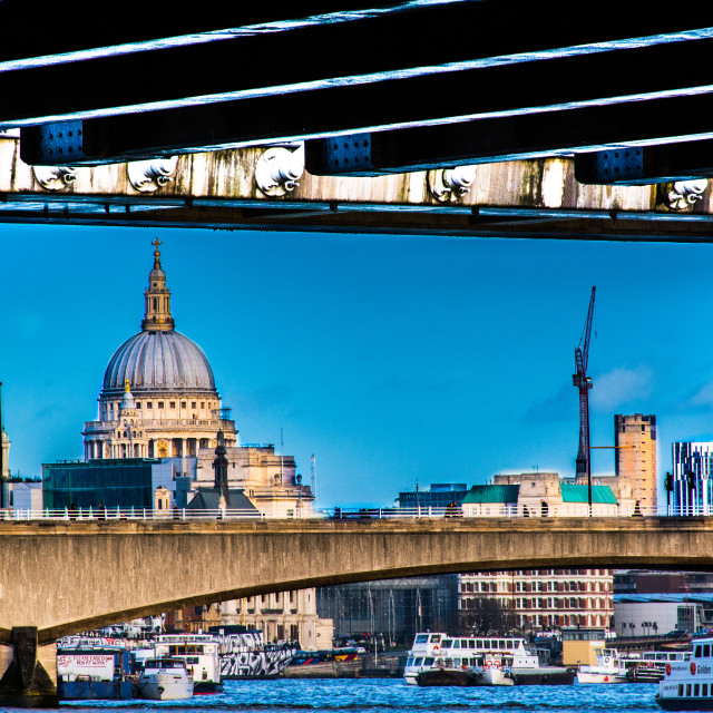 """Waterloo Bridge"" stock image"