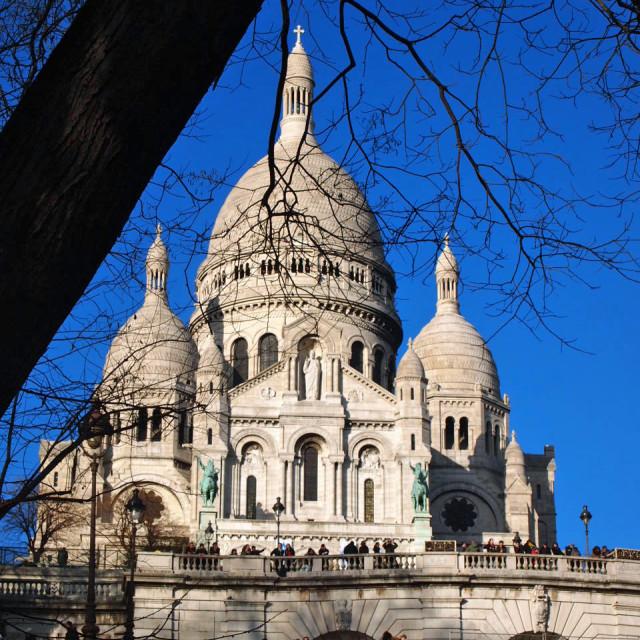 """Sacré-Cœur Basilica"" stock image"