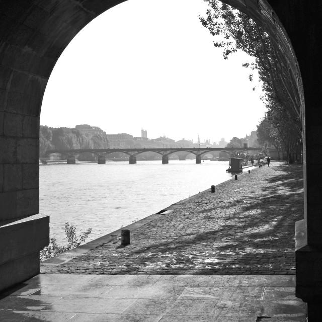 """""""Pont des Arts"""" stock image"""