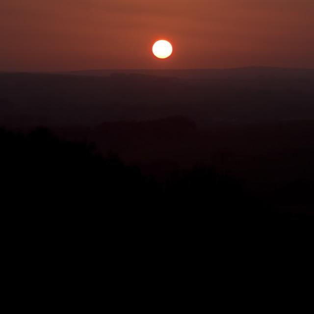 """""""February Sunset"""" stock image"""