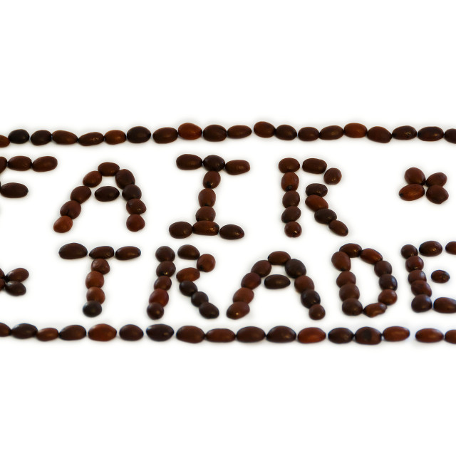 """""""Fair Trade"""" stock image"""