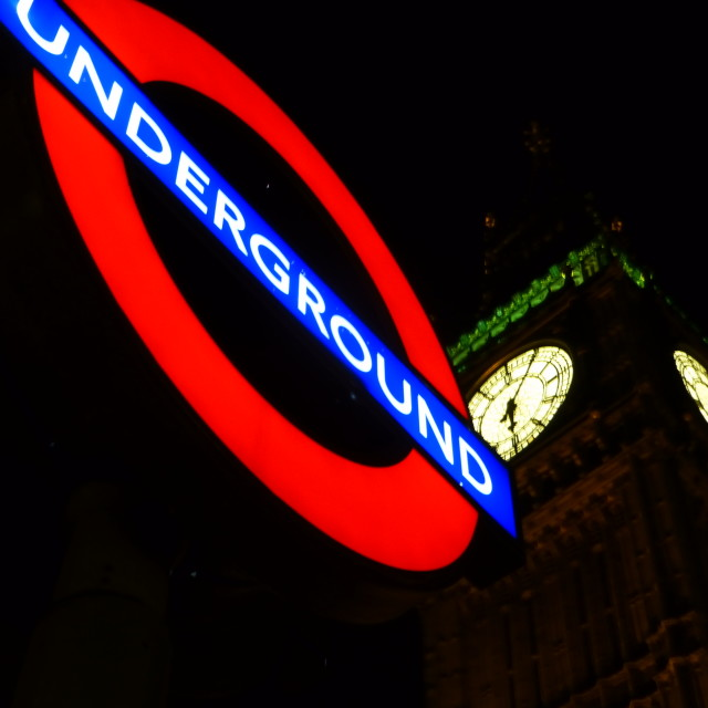 """Westminster Underground"" stock image"