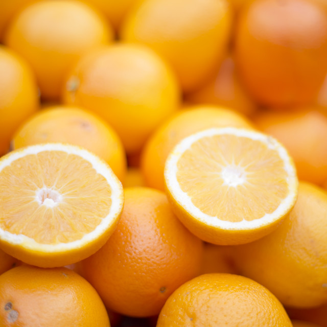 """Split Citrus"" stock image"