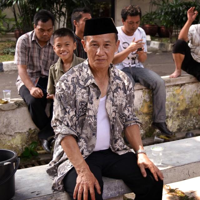"""""""Man, Yakarta"""" stock image"""