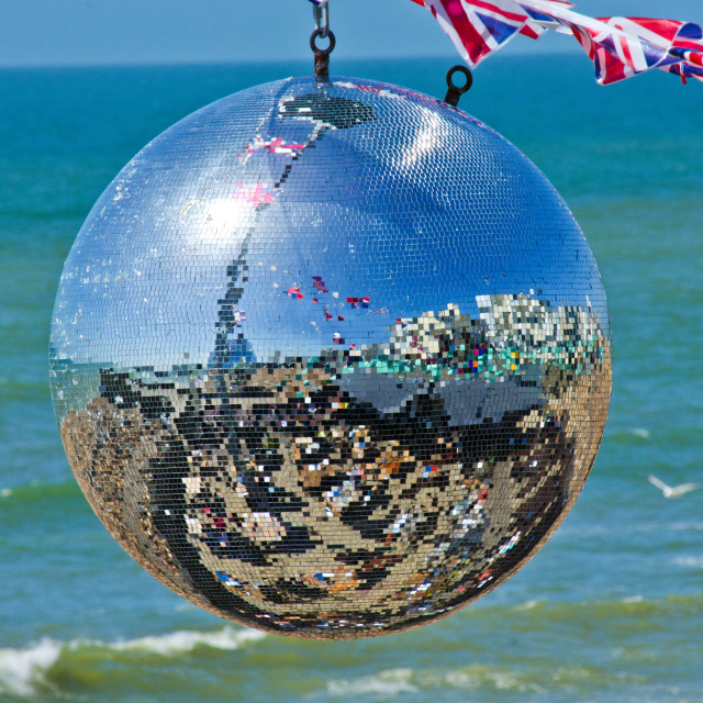 """Glitter Ball"" stock image"