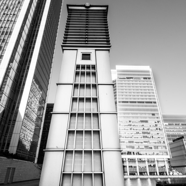 """Docklands"" stock image"