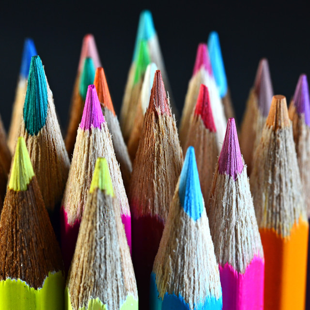 """Crayons"" stock image"