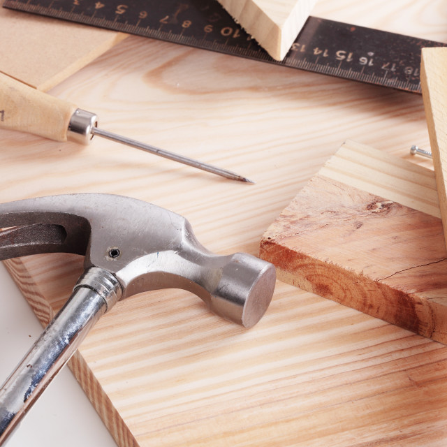 """carpentry tools"" stock image"