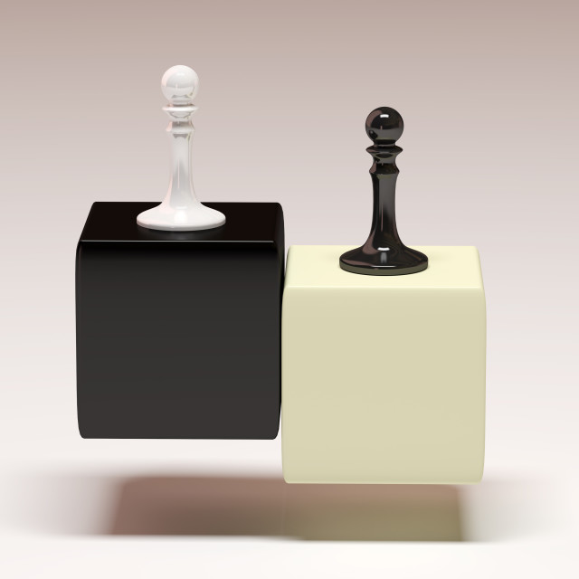 """Pawn chess"" stock image"