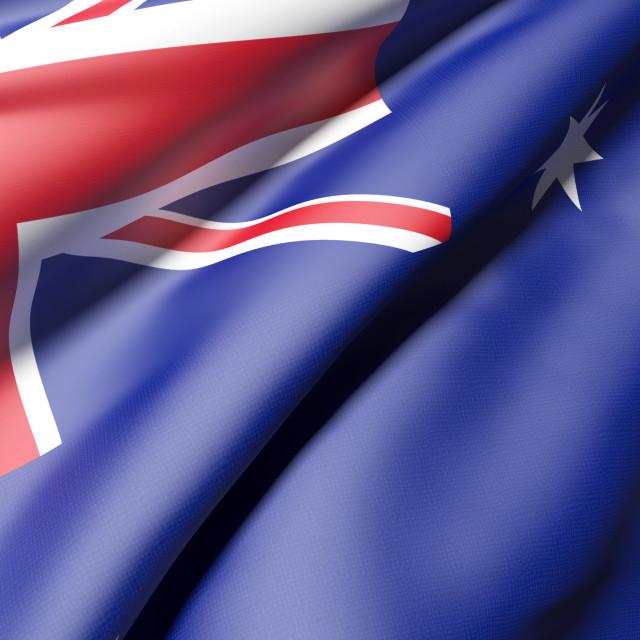 """""""australian flag"""" stock image"""