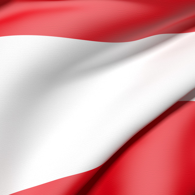 """Austria flag"" stock image"