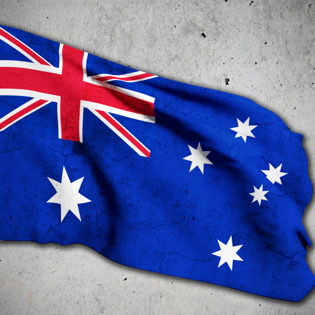 """old australian flag"" stock image"