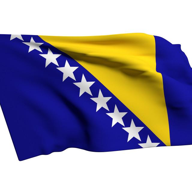 """""""bosinia herzegovina flag"""" stock image"""