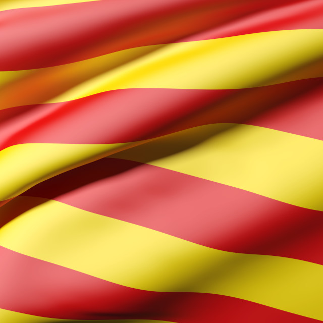 """catalonia flag"" stock image"