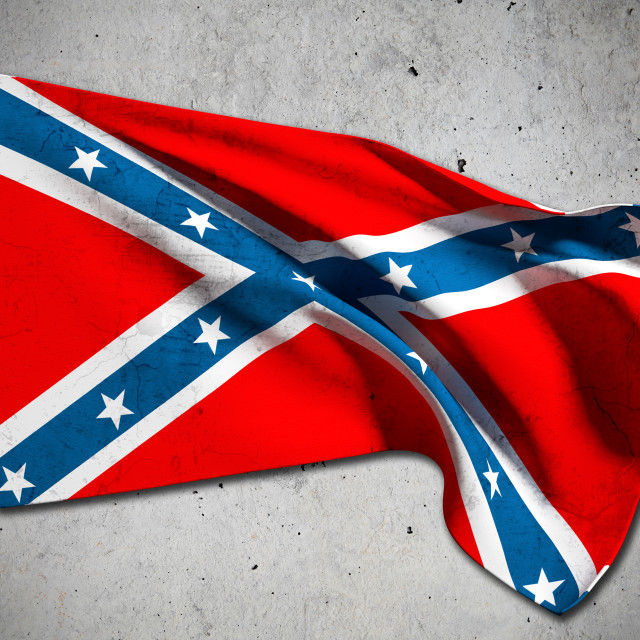 """confederate flag"" stock image"