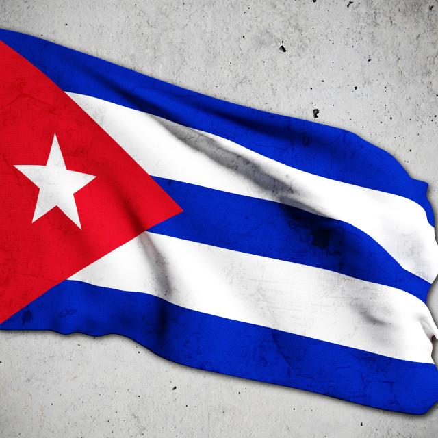 """cuba flag"" stock image"