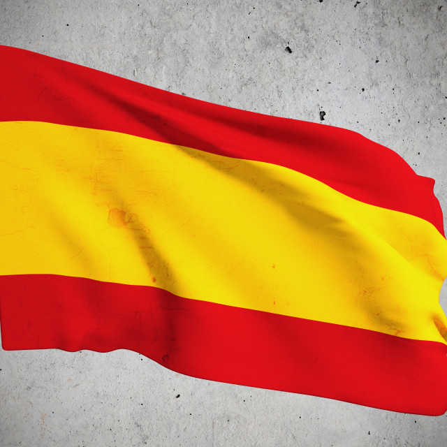"""old Spain flag"" stock image"