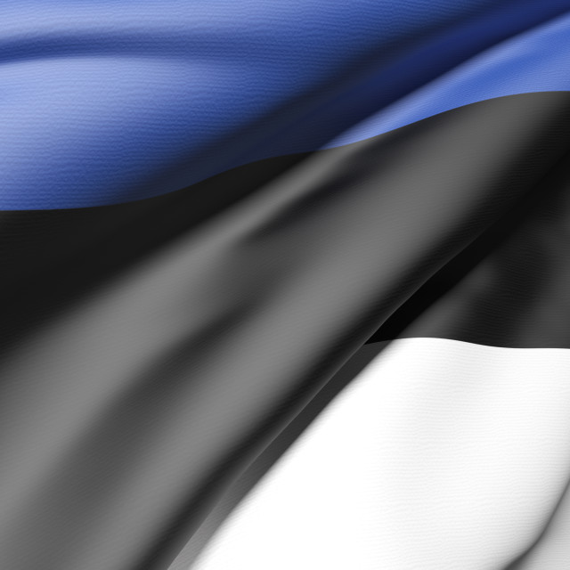 """Estonia flag"" stock image"