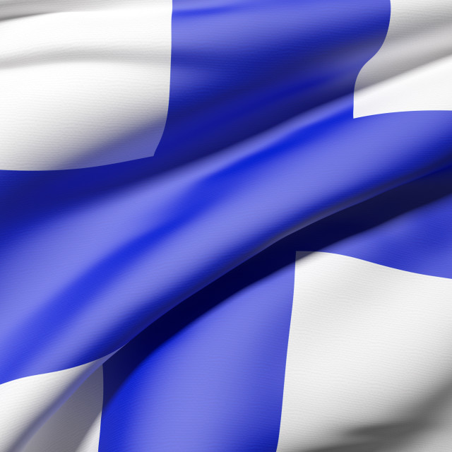 """Finland flag"" stock image"