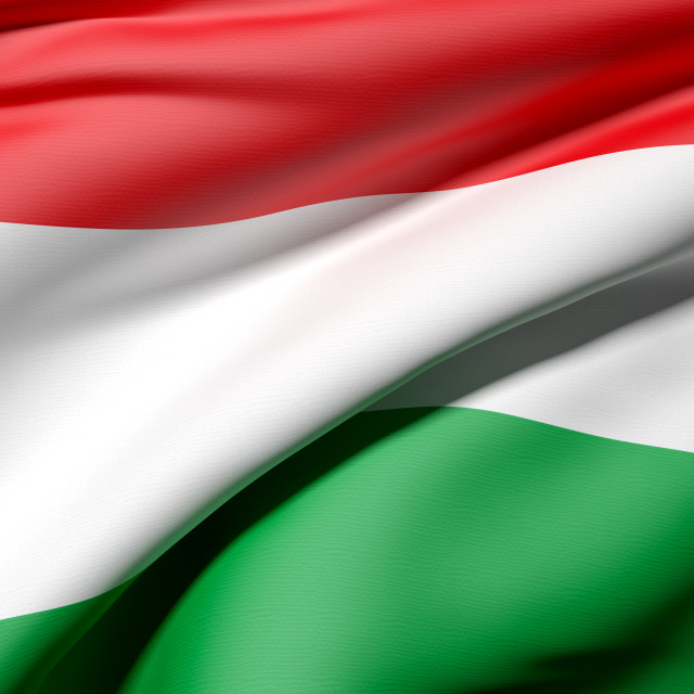 """Hungary flag"" stock image"
