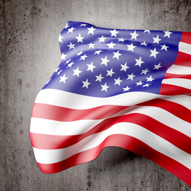 """usa flag"" stock image"