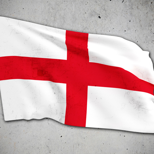"""old england flag"" stock image"