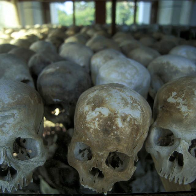 """ASIA CAMBODIA KHMER ROUGE KILLING FIELDS"" stock image"