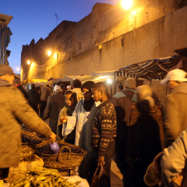 """MOROCCO FES"" stock image"