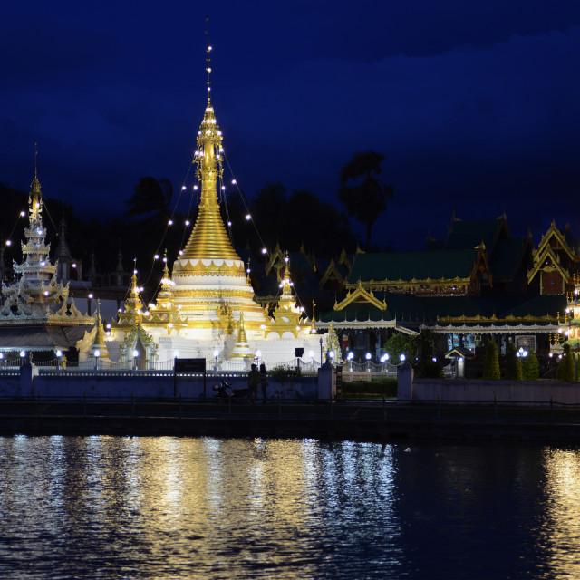 """ASIA THAILAND MAE HONG SON"" stock image"
