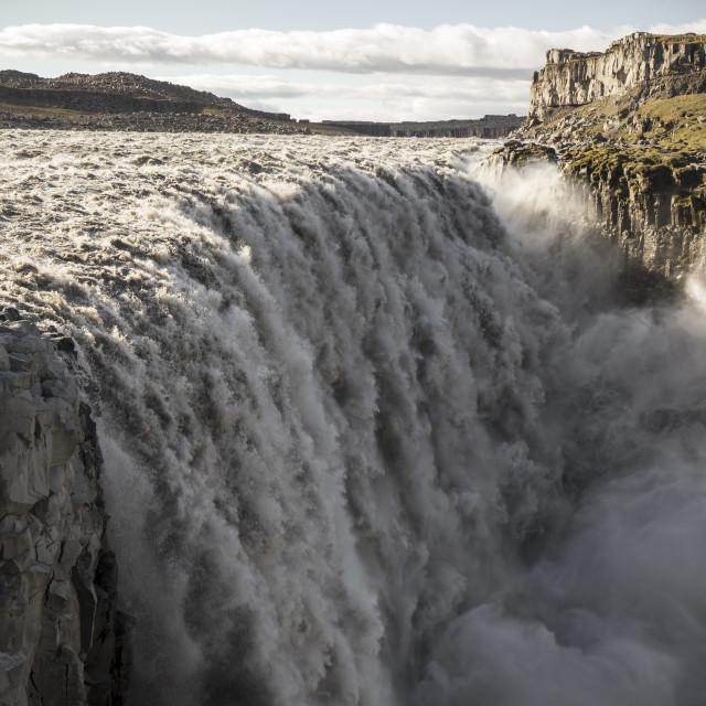 """Dettifoss, Iceland"" stock image"