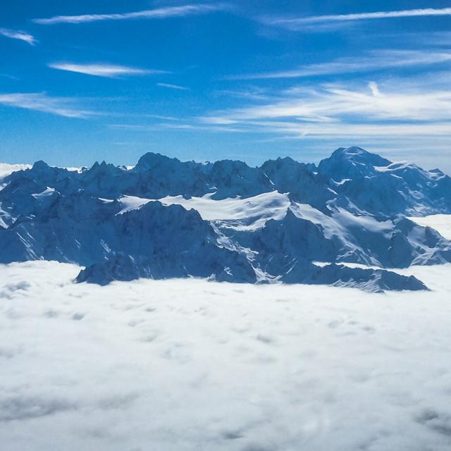 """Mt. Blanc"" stock image"