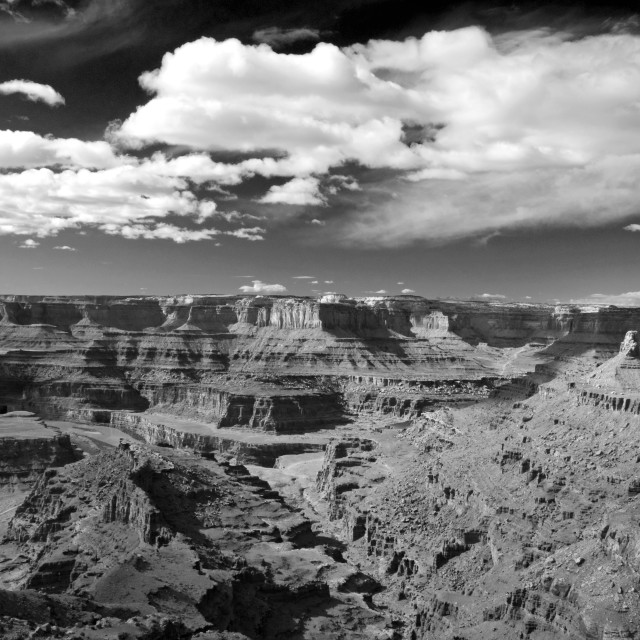 """""""View from Dead Horse Point"""" stock image"""