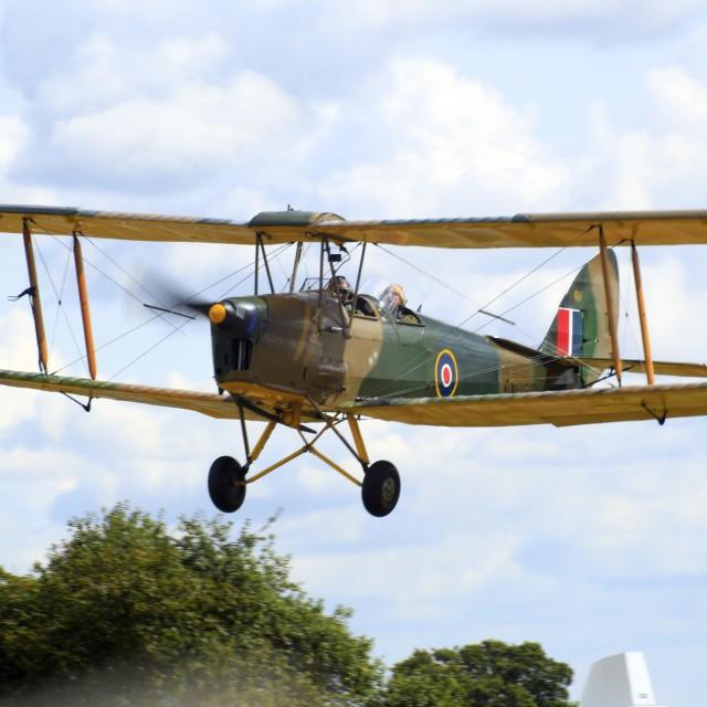 """Tiger Moth NM181"" stock image"
