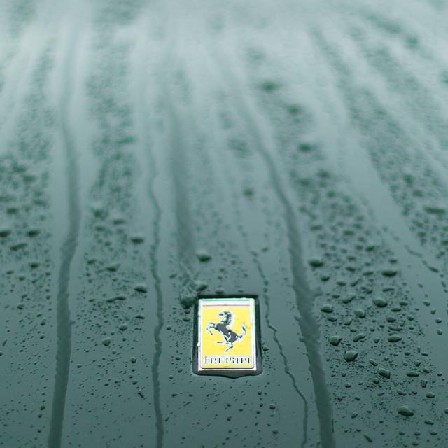 """Ferrari Badge #3"" stock image"