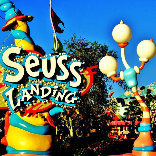 """Seuss Landing"" stock image"