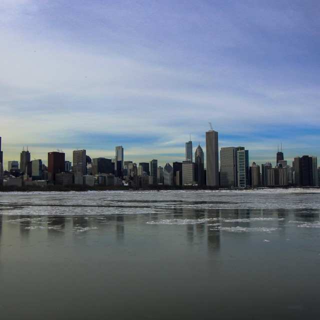 """Chicago Skyline"" stock image"
