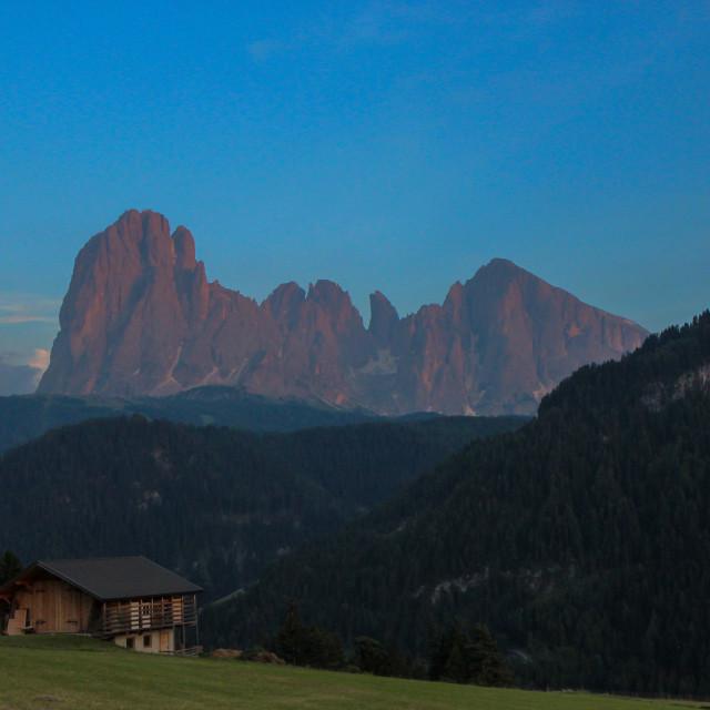 """Alpine Living"" stock image"