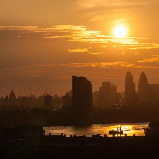 """London 2009"" stock image"