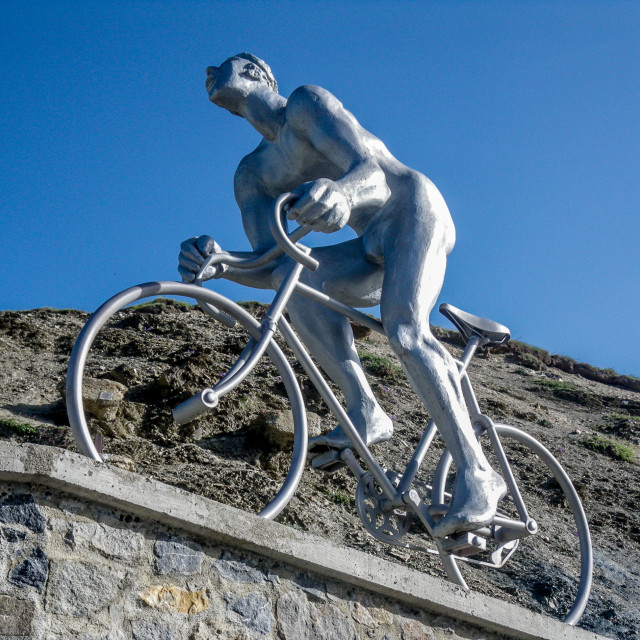 """Tourmalet Giant"" stock image"