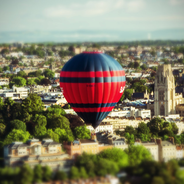 """Floating over Clifton"" stock image"