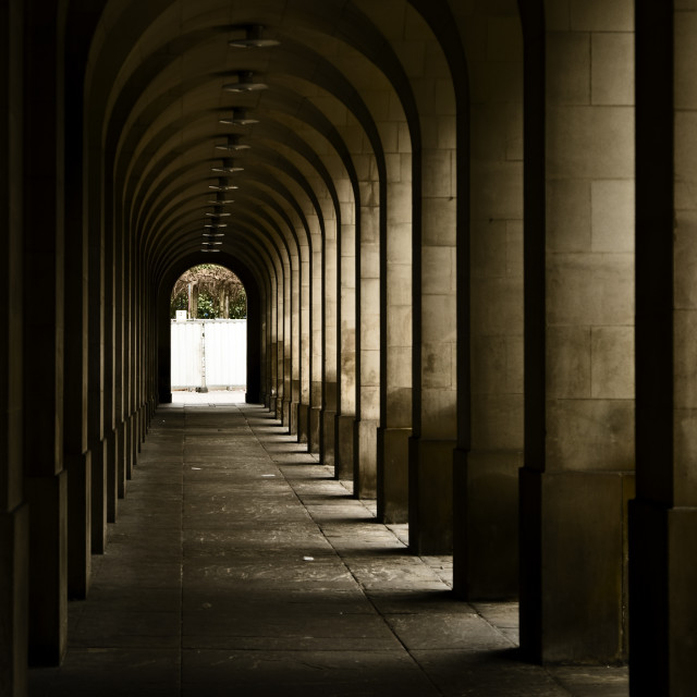 """Archways"" stock image"