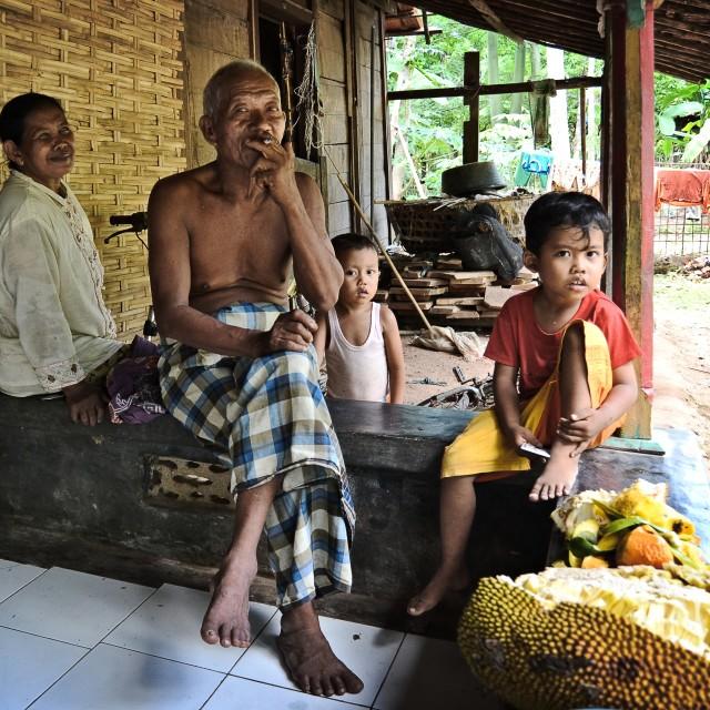 """""""keluarga, Karimunjawa"""" stock image"""
