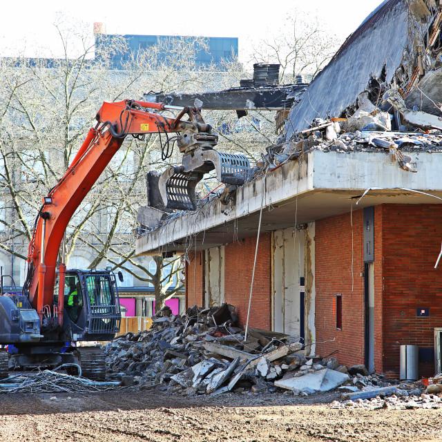 """Demolition 3"" stock image"