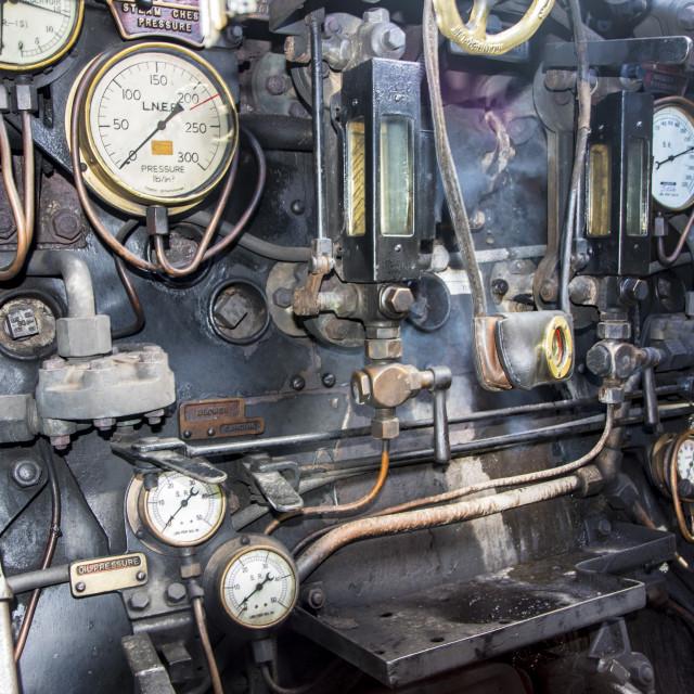 """Wadebridge 34007 Watercress Stream Train"" stock image"